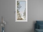 Fenêtre 1 vantail PVC avec volets roulants monoblocs   Gamme Audace