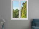 Fenêtre 2 vantaux PVC | Gamme Liberté
