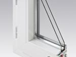 Fenêtre châssis à soufflet PVC   Gamme Audace