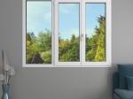 Fenêtre 3 vantaux PVC Audace avec volets roulants monoblocs