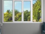 Fenêtre 4 vantaux PVC Liberté avec volets roulants monoblocs