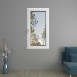 Fenêtre 1 vantail PVC avec volets roulants monoblocs