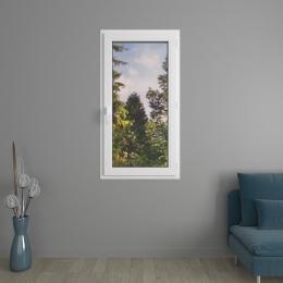Fenêtre 1 vantail PVC prestige avec volets roulants monoblocs
