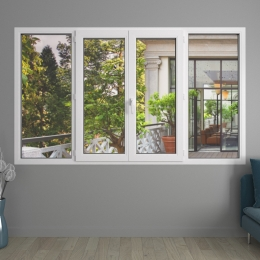 Fenêtre 4 vantaux PVC Audace